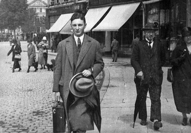 Max Stern in Germany, 1925.