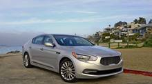 Kia is shooting for the moon with the introduction of its K900 luxury sedan.