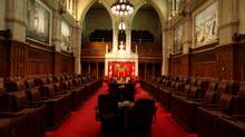 FILE PHOTO: The Senate Chamber of Parliament of Canada is seen in Ottawa. (Dave Chan For The Globe and Mail)