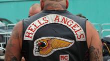 A member of the Hells Angels seen here on August 12, 2010. (Christopher Furlong/ Getty Images/Christopher Furlong/ Getty Images)