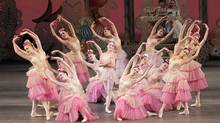 Though the Bouman School's version of The Nutcracker lacks the polish of the New York City Ballet's version, it is a charming and amazingly professional show. (Paul Kolnik/AP/Paul Kolnik/AP)