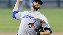 Toronto Blue Jays starting pitcher Brandon Morrow delivers during the first inning of a baseball game against the Chicago White Sox, Wednesday, June 6, 2012, in Chicago. (Charles Rex Arbogast/AP Photo)