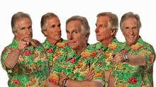Way past the Fonz, Henry Winkler's now visiting small-town Ontario to shoot an indie film.
