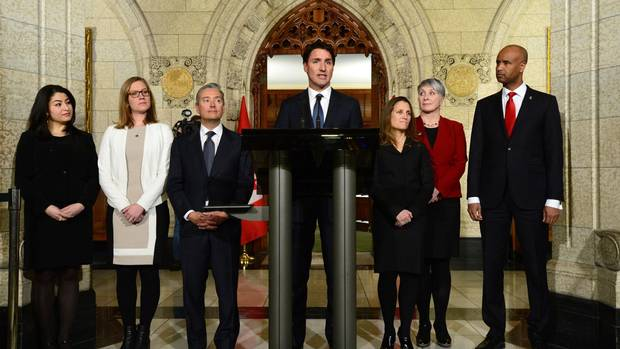 Trudeau's 2017 cabinet: Read the full list of who's in, who's out ...