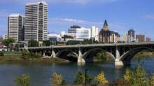 File photo of the Saskatoon skyline. Saskatoon's economy will grow by a hefty 5.2 per cent in 2013, up from 4.7 per cent last year, a Conference Board of Canada forecast says. (Jacques Boissinot/The Canadian Press)