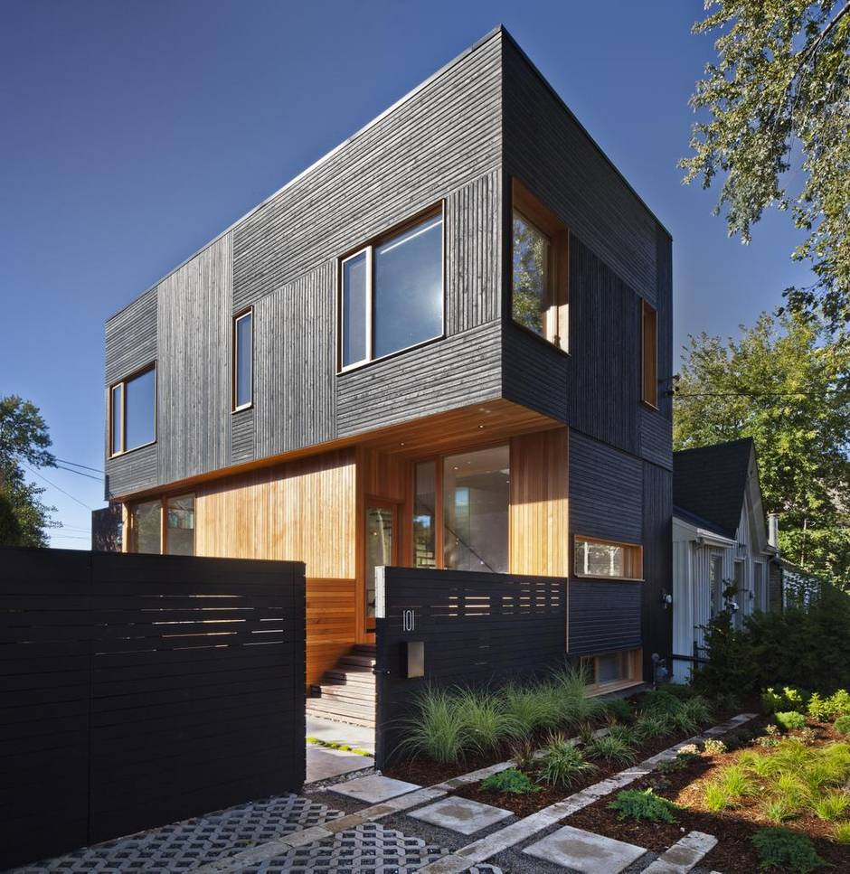Robinson Street house, Toronto, by Modernest. All photos by Steven Evans