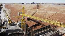 File photo of the Oyu Tolgoi mine in the South Gobi desert in Mongolia. (STAFF/REUTERS)