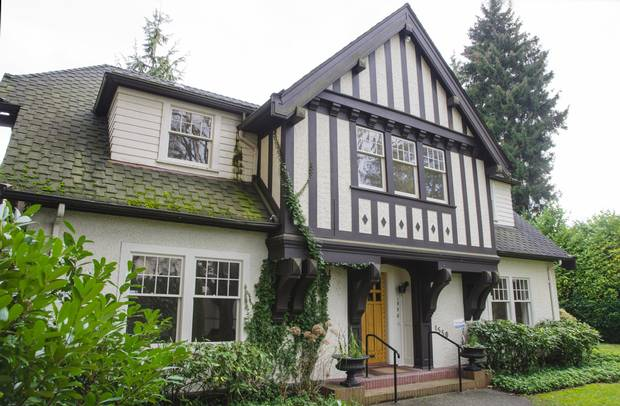 The Electric House at 1550 W. 29th Ave. in Vancouver's Shaughnessy neighbourhood.