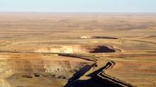 The Tasiast pit gold mine in Mauritania, where Kinross says workers are on strike. (Handout/Kinross Gold Corp.)
