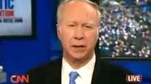 Screen grab from David Gergen video