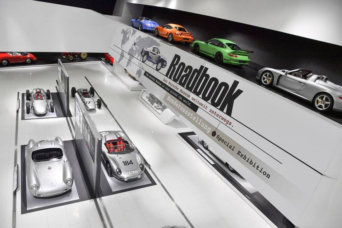 A special exhibition at the Porsche Museum.