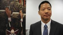 A press conference was held June 15 2012 to announce the Canada Company Military Employment Transition Program. Jason Hsiung is a former Canadian Forces member and a successful program candidate. The MET program was established to strengthen the relationship between the military and employers and to allow them to use the skills learned in the military and apply them in the civilian workplace. (Fred Lum/The Globe and Mail)