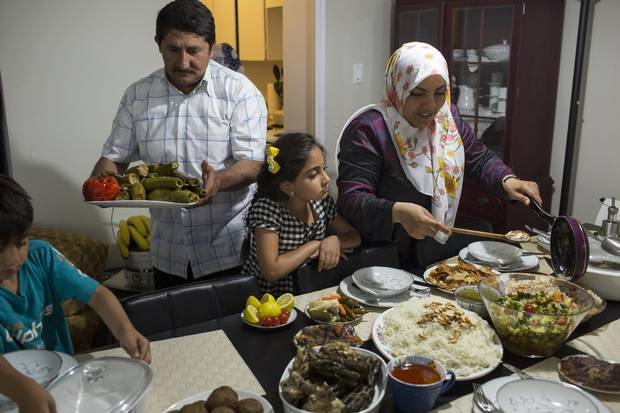 Everybody pitches in for a Ramadan dinner – both Omer and Aliye are skilled in the kitchen.