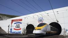 Last year, the Eurotunnel carried 20 million passengers, and the tunnels still operate at around half of their capacity. (Pascal Rossignol/Reuters)