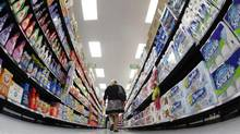 Wal-Mart announced Thursday that it will require its suppliers to phase out 10 hazardous chemicals from personal care products, cosmetics and cleaning products sold in its stores. It will also require the suppliers to disclose chemicals in those products. (JIM YOUNG/REUTERS)