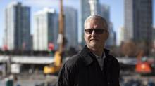 Michael Graydon of Paragon Gaming is pictured on the site next to B.C. Place in Vancouver where the company plans to build an urban resort featuring a casino, on Feb. 12, 2014. (Ben Nelms for The Globe and Mail)