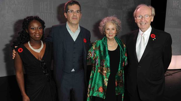 The jury for the 2013 Giller Prize.