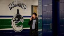 Vancouver Canucks' co-owner Francesco Aquilini ahead of last year's seventh game of the Stanley Cup final. (Darryl Dyck/The Canadian Press/Darryl Dyck/The Canadian Press)