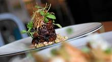 Nagano Farms Pork Ribs at Acadia (Deborah Baic/The Globe and Mail/Deborah Baic/The Globe and Mail)