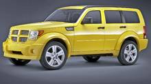 Dodge Nitro (Jim Frenak/Chrysler)