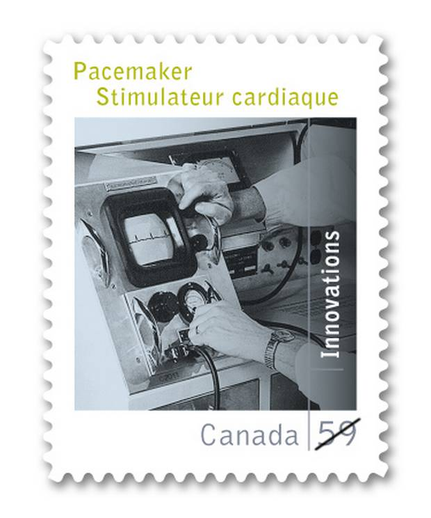 Modern pacemakers have their roots in a Canadian invention that acted as a starting gun on decades of development in cardiac pacing.