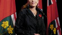 Sandra Pupatello, a possible contender for leadership of the Ontario Liberals, on Oct. 30, 2007. (Tibor Kolley/The Globe and Mail)