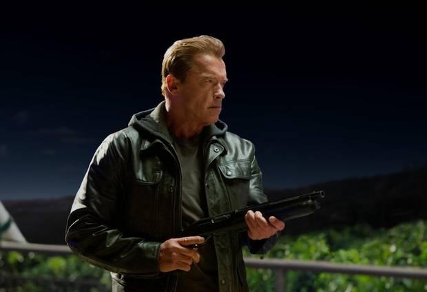 Arnold Schwarzenegger in the 2015 film Terminator Genisys.