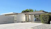 Brian McGuire's prefabricated steel house in Palm Springs, Calif., designed in 1961 by architects Donald Wexler and Ric Harrison. In March, it became the first postwar structure recognized by the U.S. National Register of Historic Places. (Dan Chavkin/Dan Chavkin)