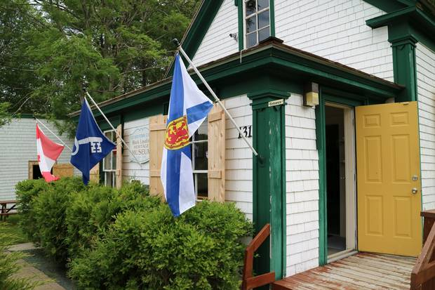 This one-room 1830s schoolhouse is part of the Black Loyalist Heritage Centre. Credit: Steve Jenkinson