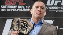 Georges St-Pierre (The Canadian Press)