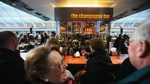 The heart of King's Cross, St. Pancras station, now has a massive champagne bar. (Daniel Berehulak/2007 Getty Images)