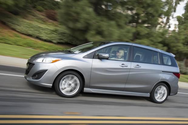 2013 Mazda5.