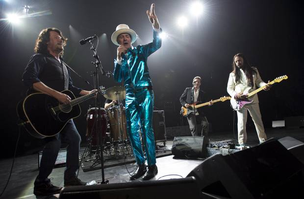 """Spirit of the West singer John Mann attended the July 24 Tragically Hip concert: """"That show was fantastic. It was one of the finest performances I have ever seen. I just don't think anyone else could possibly do it."""""""
