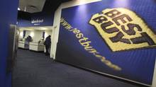 The inside of a Best Buy store is seen in New York in this March 26, 2012 file photo. (SHANNON STAPLETON/REUTERS)