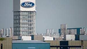 The Ford Motor Co. assembly plant in St. Thomas, Ont. was shut down earlier this year.