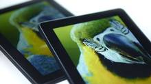 "Handout image from Nanosys claims ""The Kindle Fire HDX is brighter and more colorful with Nanosys QDEF"" (Nanosys)"