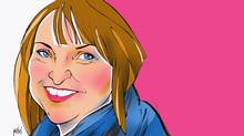 Illustration of Christine Day, chief executive officer of Lululemon Athletica Inc. (ANTHONY JENKINS/THE GLOBE AND MAIL)