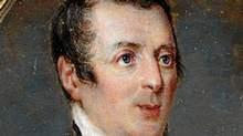 Detail from a handout photograph of a Duke of Wellington miniature, painted by Frenchman Jacques Rochard on the eve of Wellington's crucial victory over Emperor Napoleon in the Battle of Waterloo. (HO/REUTERS)