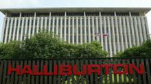 Halliburton headquarters near downtown Houston. The oil field services company reported that fourth-quarter net income fell 35 per cent to $589-million (U.S.), or 63 cents per share. (RICHARD CARSON/REUTERS)