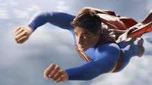 Brandon Routh as Superman in Superman Returns. (Sony Pictures Imageworks)