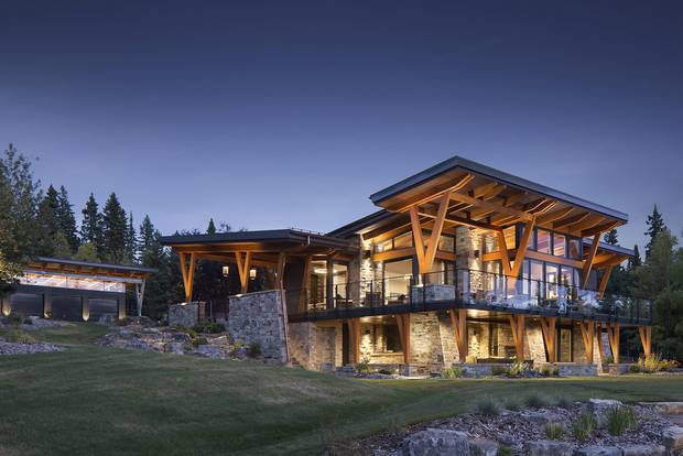 Prairie Wood Design Awards. DeJong Associates Priddis House roof reno.