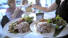 The Toronto restaurant Riz serves gluten-free food. (Fred Lum/The Globe and Mail/Fred Lum/The Globe and Mail)