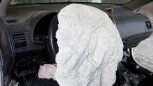 If an airbag has deployed, it must be repaired by a qualified technician. (istockphoto)