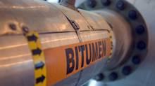Bitumen pipeline (DAVID BOILY)
