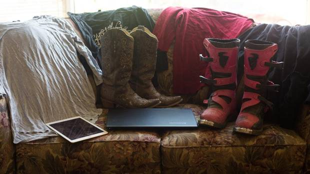 Most of the items besides a few photos that Cassie White, 19, took with her when she fled the Fort McMurray wildfires. Amber Bracken for The Globe and Mail