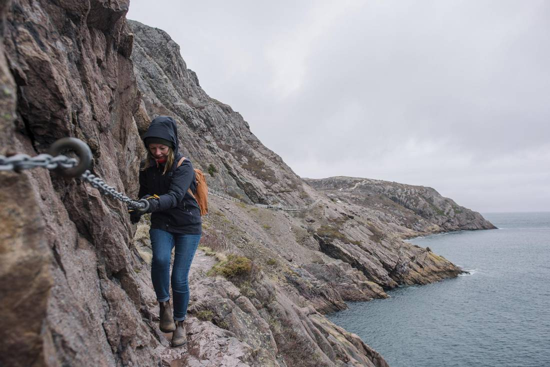 Wallpaper designer Kate Golding celebrates her 38th birthday by tackling the North Head Trail in St John's.