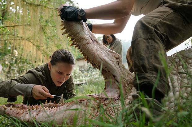 Natalie Portman stars in Annihilation, which will be released theatrically in the United States, Canada and China, then stream on Netflix in other overseas markets just 17 days later.