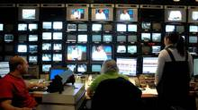 A television control room (Sheryl Nadler/Sheryl Nadler/THE GLOBE AND MAIL)