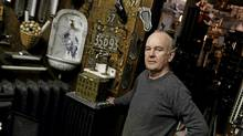 Jim Addison runs a popular antique shop in Toronto. (Fernando Morales/Fernando Morales/The Globe and Mail)