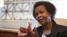 South African businesswoman Mamphela Ramphele, who grew up in a rural village under apartheid, has become an outspoken advocate of philanthropy in Africa. (Erin Conway-Smith/Erin Conway-Smith for The Globe and Mail)